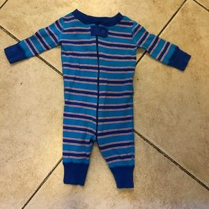Hanna Andersson Baby Boys Striped Pajamas, Sz 50